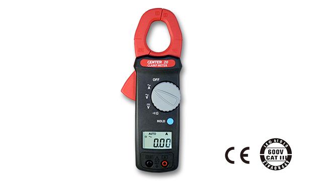 CENTER 20_ AC/DC Clamp Meter (Economy) 1