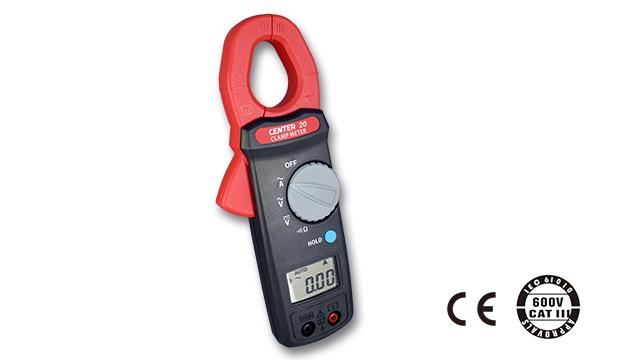 CENTER 20_ AC/DC Clamp Meter (Economy) 2