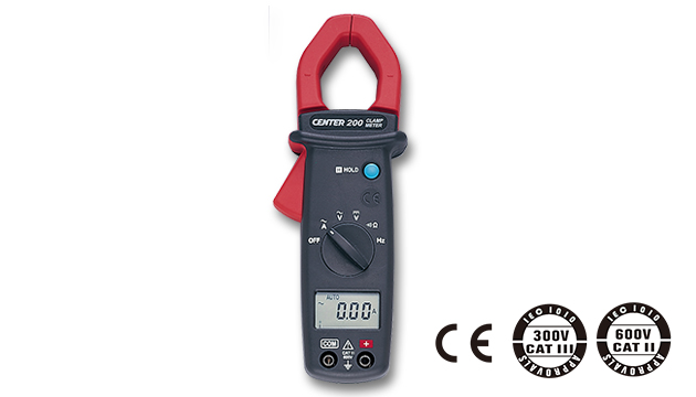 CENTER 200_ AC Clamp Meter (Mini Size) 1