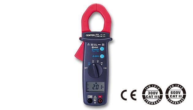 CENTER 201_ AC/DC Clamp Meter (Mini Size) 1