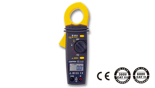 CENTER 222_ AC/DC Clamp Meter (Mini Size) 1