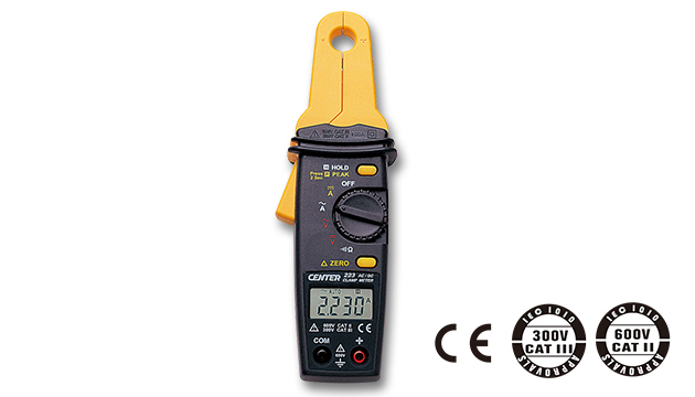CENTER 223_ AC/DC Clamp Meter (Mini Size, High Resolution) 1