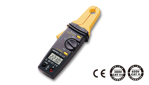 CENTER 223_ AC/DC Clamp Meter (Mini Size, High Resolution) 2
