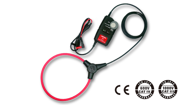 "CENTER 25_ Flexible AC Clamp Meter (10""/18"" Coil) 2"