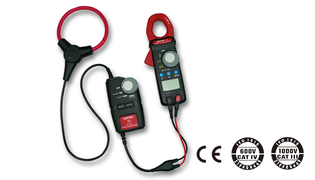 "CENTER 25_ Flexible AC Clamp Meter (10""/18"" Coil) 3"