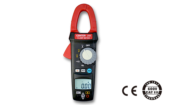 CENTER 250_ TRMS Inrush Clamp Meter 1