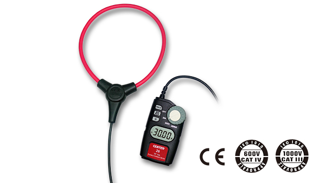 "CENTER 26_ Flexible AC Clamp Meter (10""/18"" Coil) 2"