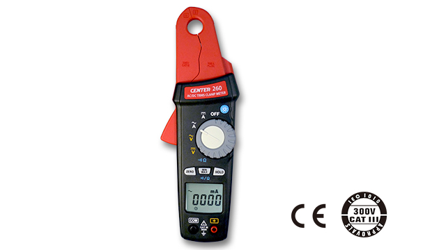 CENTER 260_ TRMS AC/DC Clamp Meter (1mA) 1