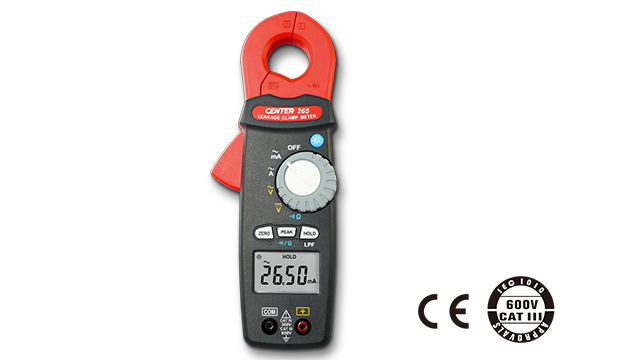 CENTER 265_ TRMS AC Leakage Clamp Meter (0.001mA) 1