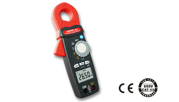 CENTER 265_ TRMS AC Leakage Clamp Meter (0.001mA) 2