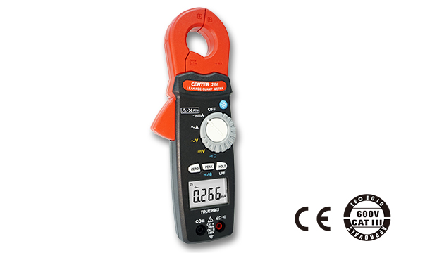 CENTER 266_ TRMS AC Leakage Clamp Meter (0.001mA) 2