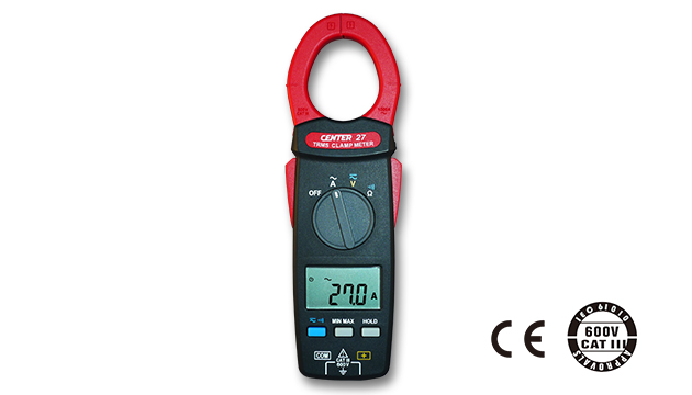 CENTER 27_ TRMS AC Clamp Meter (AC1000A, Slim & Lightweight Size) 1