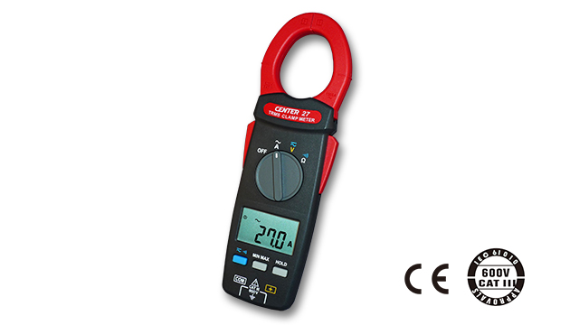 CENTER 27_ TRMS AC Clamp Meter (AC1000A, Slim & Lightweight Size) 2