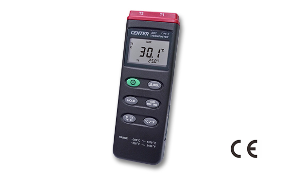 CENTER 301_ Dual Input Thermometer 1