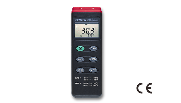 CENTER 303_ Dual Input Thermometer (K/J Type) 1