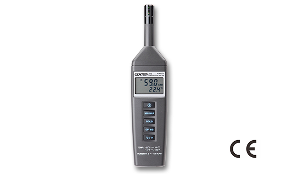 CENTER 316_ Humidity Temperature Meter (Compact Size, Dew Point, Web Bulb) 1