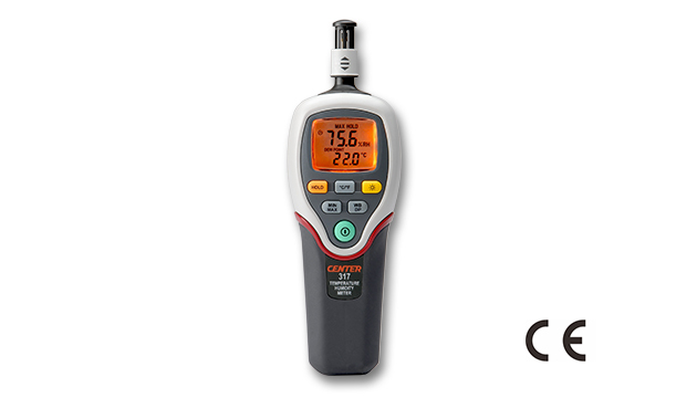 CENTER 317_ Humidity Temperature Meter (Dew Point, Web Bulb) 1
