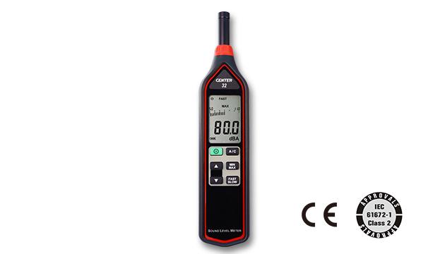 CENTER 32_ Sound Level Meter (IEC 61672-1 class 2, Economy) 1
