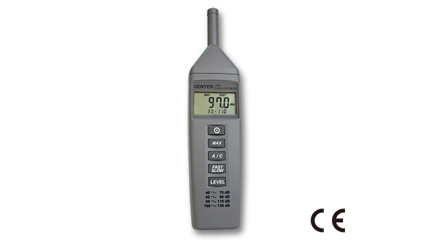 CENTER 329_ Sound Level Meter (Compact Size, Economy) 1