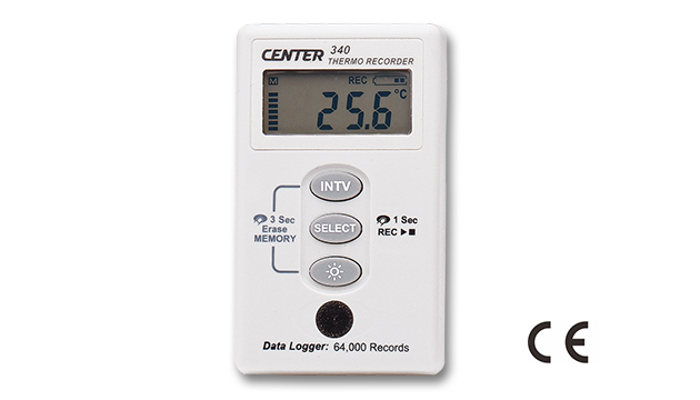 CENTER 340_ Datalogger Thermo Recorder (Water Proof) 1