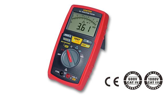 CENTER 361_ Low Test Voltage Insulation Tester (No Continue) 1