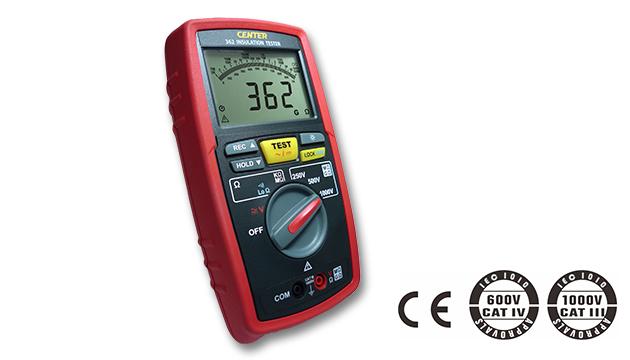 CENTER 362_ Datalogger Insulation Tester (No Continue) 1