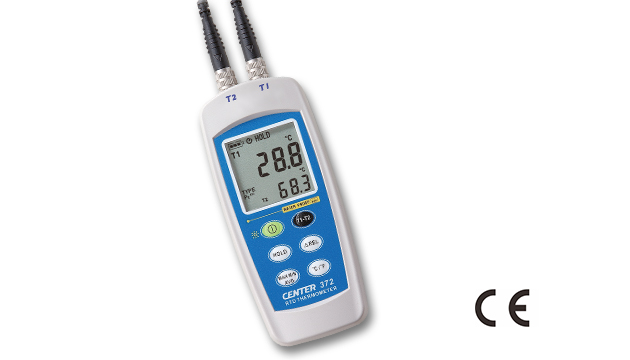 CENTER 372_ Dual Input RTD Thermometer (Water Proof) 2