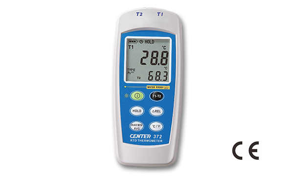 CENTER 372_ Dual Input RTD Thermometer (Water Proof) 1