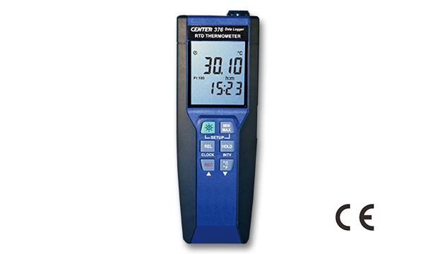 CENTER 376_ Datalogger Precision RTD Thermometer (0.01°C) 1