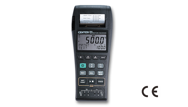 CENTER 500_ Datalogger Temperature Graphic Recorder (k/J Type) 1