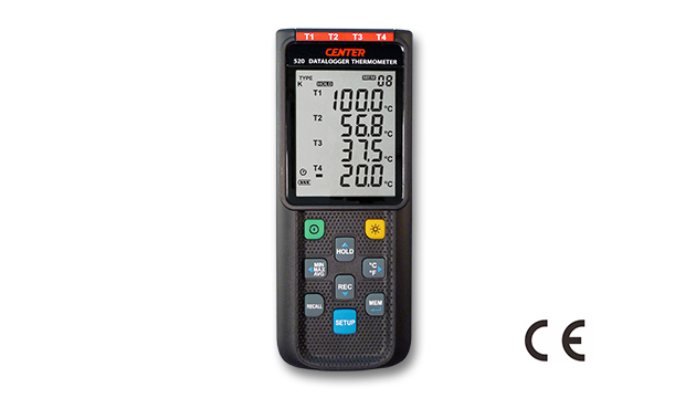 CENTER 520_ Four Channels Datalogger Thermometer 1